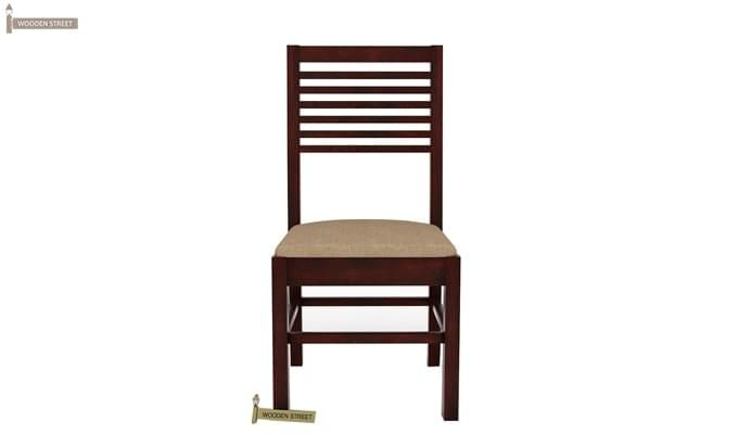 Darcel 4 Seater Dining Set (Mahogany Finish)-5