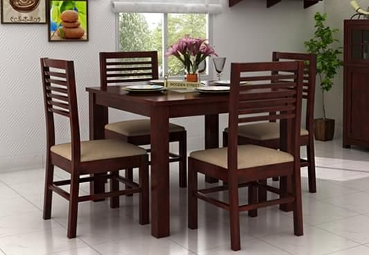 buy 4 seater dining table online india