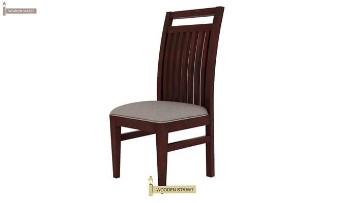 Hasbro 4 Seater Dining Set (Mahogany Finish)-10
