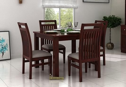 4 Seater Dining Table: Buy 4 Seater Dining Table Online @ Low Price
