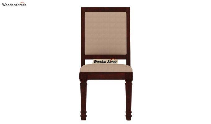 Henson 4 Seater Dining Set (Mahogany Finish)-6