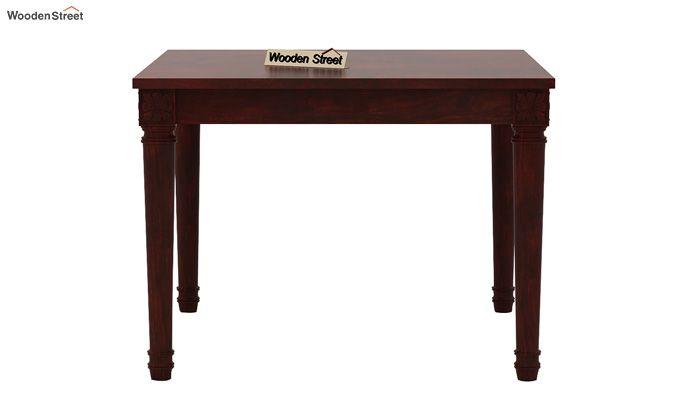 Henson 4 Seater Dining Set (Mahogany Finish)-4