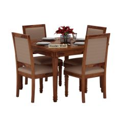 Henson 4 Seater Dining Set (Teak Finish)