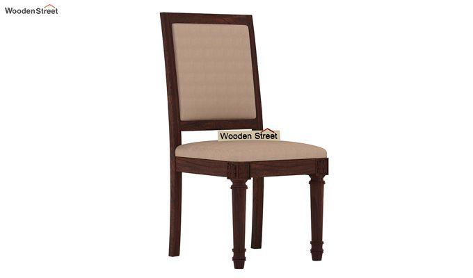 Henson 4 Seater Dining Set (Walnut Finish)-6