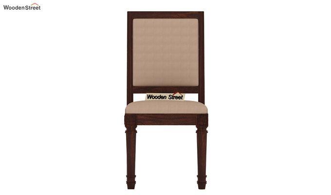 Henson 4 Seater Dining Set (Walnut Finish)-7