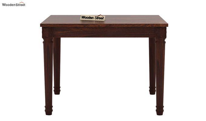 Henson 4 Seater Dining Set (Walnut Finish)-5