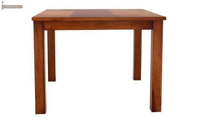 Jeor 4 Seater Dining Set (Honey Finish)-6