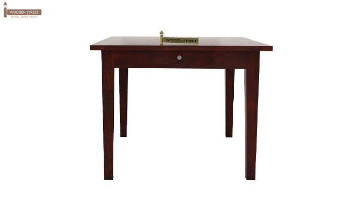 Mcbeth Storage 4 Seater Dining Table Set (Mahogany Finish)-4