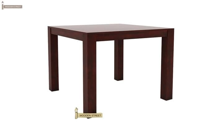 Mckinley 4 Seater Dining Set (Mahogany Finish)-7