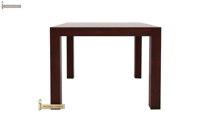 Mckinley 4 Seater Dining Set (Mahogany Finish)-8