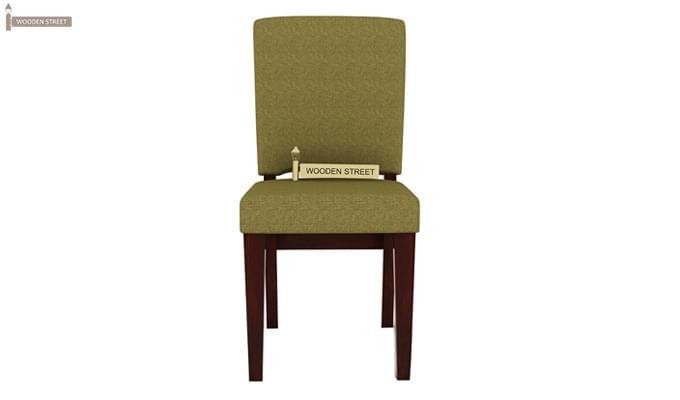Nechim 4 Seater Dining Set (Mahogany Finish)-4
