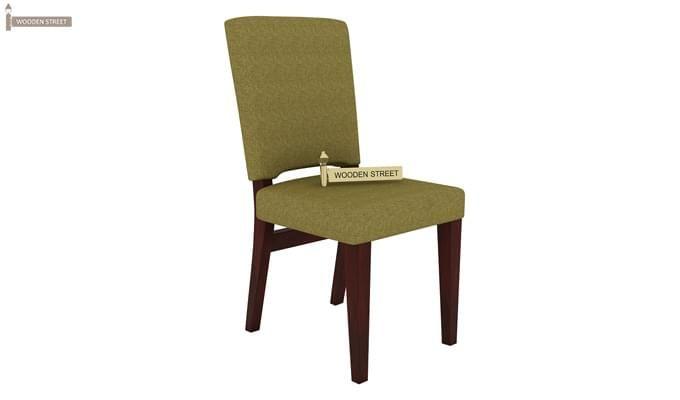Nechim 4 Seater Dining Set (Mahogany Finish)-5
