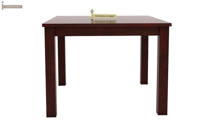 Nechim 4 Seater Dining Set (Mahogany Finish)-8