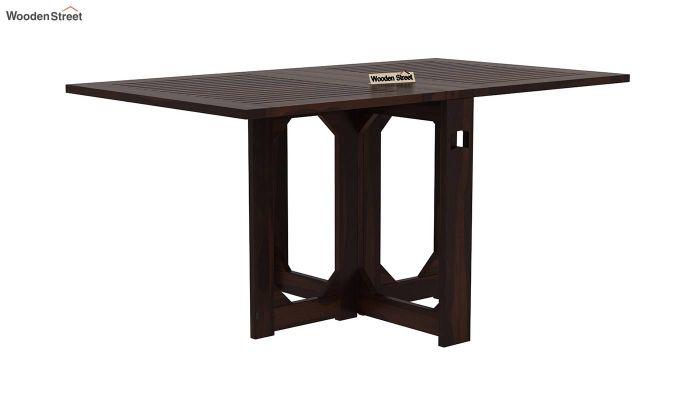 Paul 4 Seater Dining Set (Walnut Finish)-5