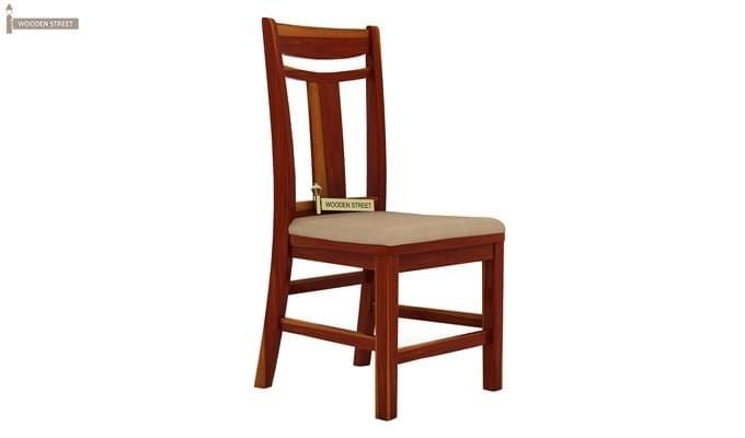 Ralph 2 Seater Dining Set with Storage (Honey Finish)-7