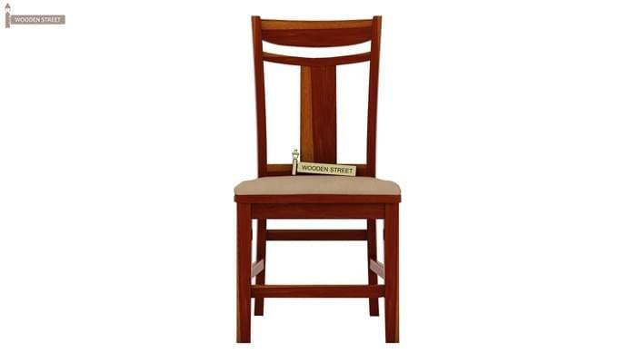 Ralph 2 Seater Dining Set with Storage (Honey Finish)-6