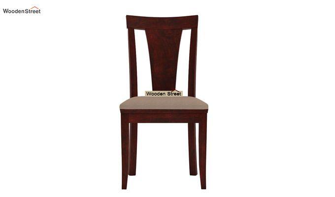 Ralph 4 Seater Dining Set with Storage (Mahogany Finish)-6