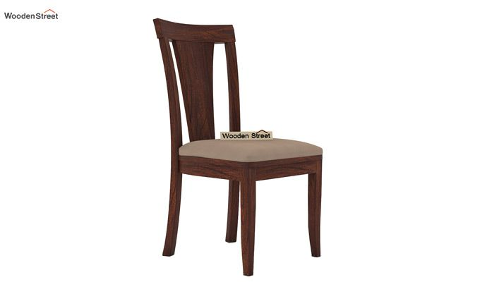 Ralph 4 Seater Dining Set with Storage (Walnut Finish)-6