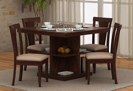 Bestseller Solid Wood Dining Table And 4 Chairs