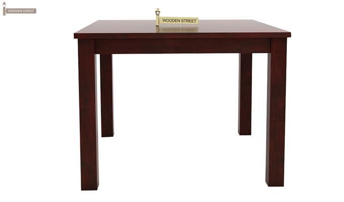 Talisa 4 Seater Dining Set (Mahogany Finish)-5