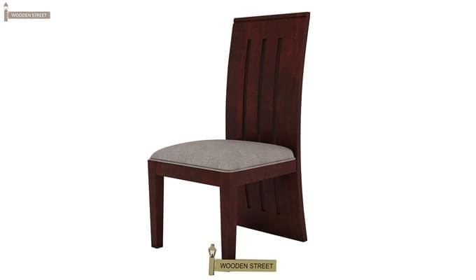 Jaoquin 4 Seater Dining Set (Mahogany Finish)-11