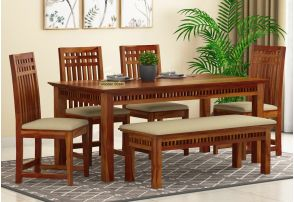 6 Seater Dining Table Set Six