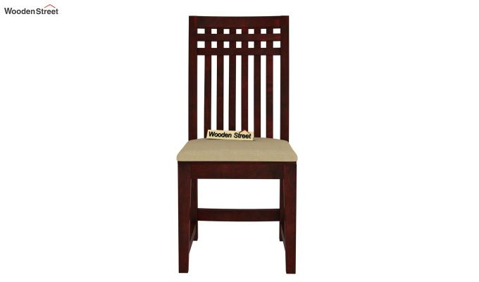 Adolph 6 Seater Dining Set (Mahogany Finish)-6