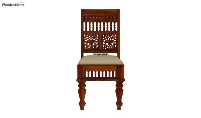 Alanis 6 Seater Dining Set (Honey Finish)-5