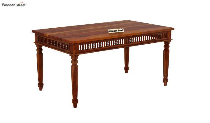 Alanis 6 Seater Dining Set (Honey Finish)-6