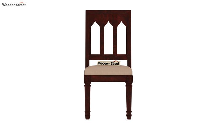 Archivist 6 Seater Dining Set (Mahogany Finish)-6