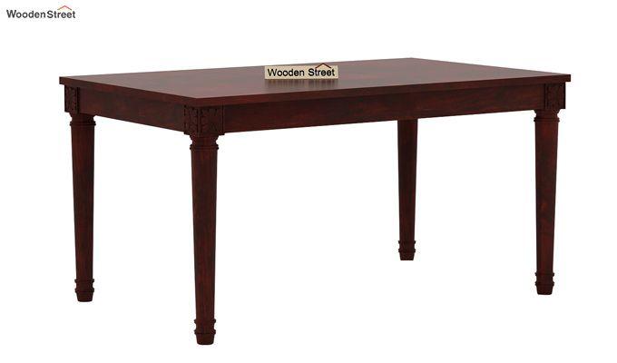 Archivist 6 Seater Dining Set (Mahogany Finish)-3