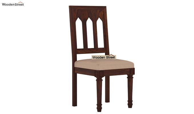 Archivist 6 Seater Dining Set (Walnut Finish)-5