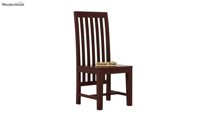 Ariana 6 Seater Dining Set (Mahogany Finish)-5
