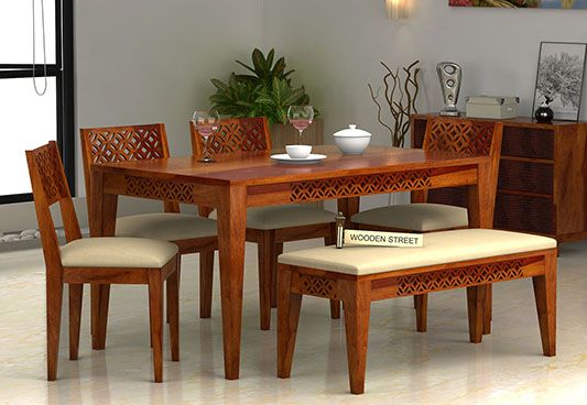 6 seater dining table buy six seater dining table online upto 55 off. Black Bedroom Furniture Sets. Home Design Ideas