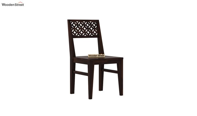 Cambrey 6 Seater Dining Set With Bench (Walnut Finish)-6