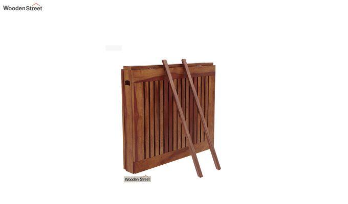 Canova 6 Seater Family Dining Table Set (Honey Finish)-8
