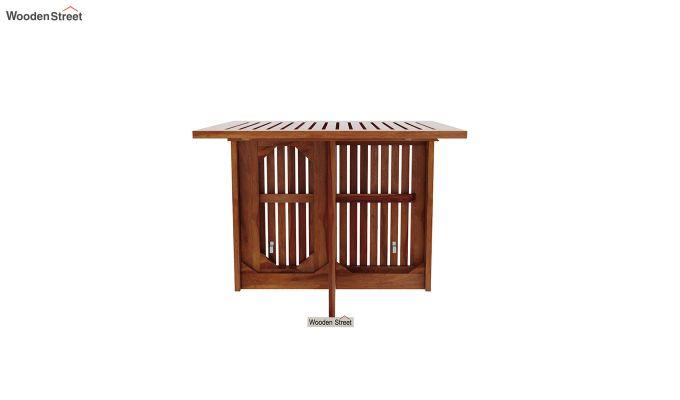 Canova 6 Seater Family Dining Table Set (Honey Finish)-6