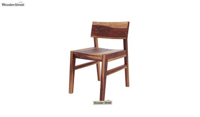 Canova 6 Seater Family Dining Table Set (Teak Finish)-9