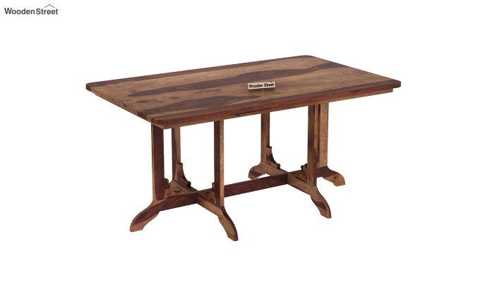 Cohoon 6 Seater Dining Set (Teak Finish)-6