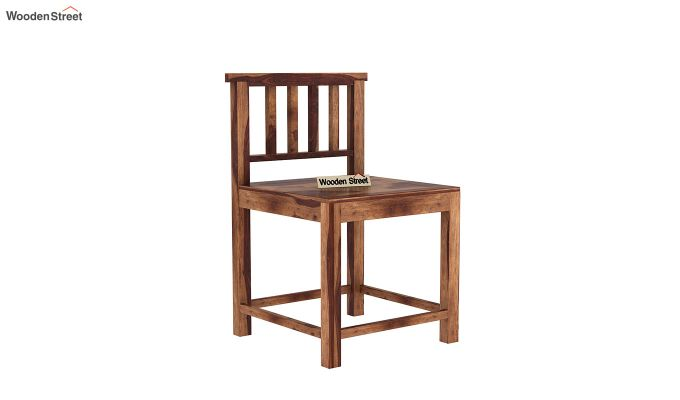 Cohoon 6 Seater Dining Set (Teak Finish)-10