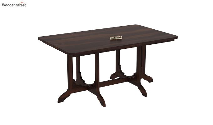 Cohoon 6 Seater Dining Set (Walnut Finish)-6