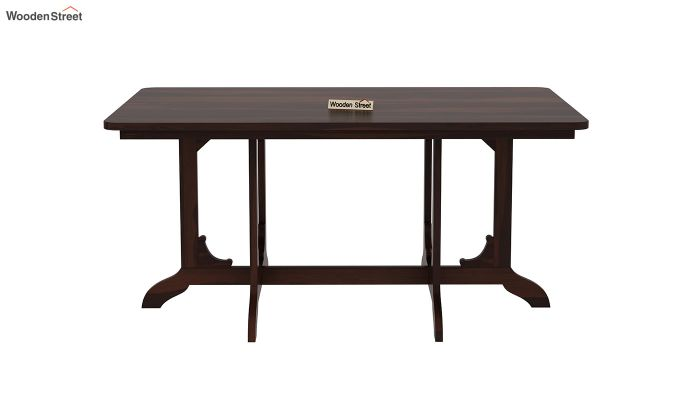 Cohoon 6 Seater Dining Set (Walnut Finish)-7