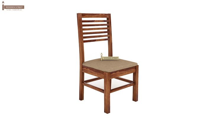 Lyon 6 Seater Dining Set With Bench (Teak Finish)-6