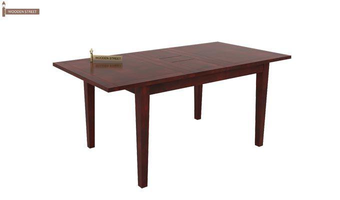 Franco Extendable 6 Seater Dining Set (Mahogany Finish)-4