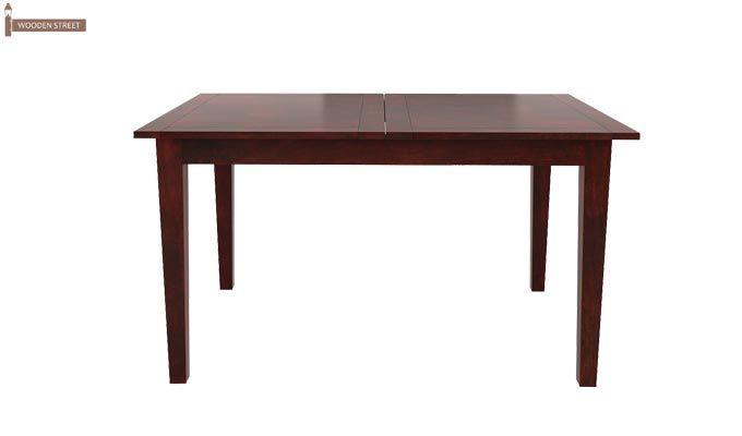 Franco Extendable 6 Seater Dining Set (Mahogany Finish)-5