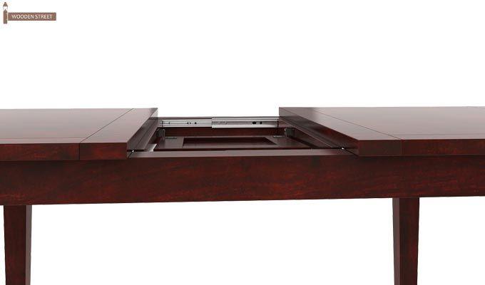 Franco Extendable 6 Seater Dining Set (Mahogany Finish)-8
