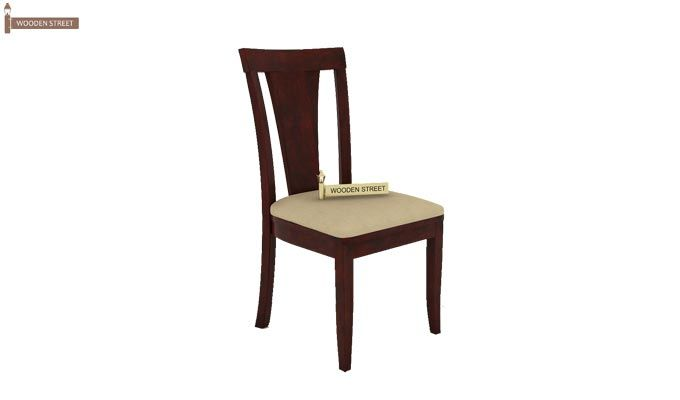 Franco Extendable 6 Seater Dining Set (Mahogany Finish)-9