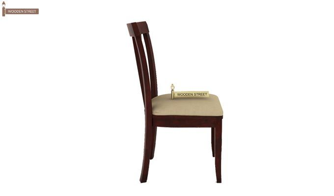 Franco Extendable 6 Seater Dining Set (Mahogany Finish)-10