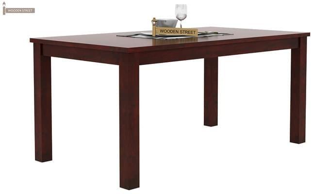 Janet 6 Seater Dining Table Set (Mahogany Finish)-3