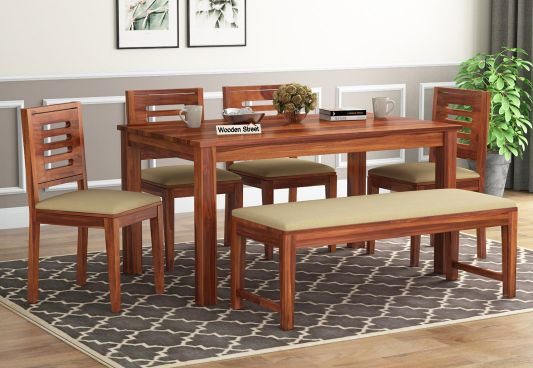 6 Seater Dining Table Set Buy Dining Table Set 6 Seater Upto 55 Off